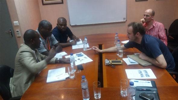 Meeting to plan solar energy installation